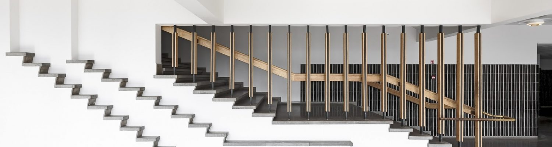 Alvar Aalto, Escuela de Arquitectura Otaniemi, imagen fuente desconocida